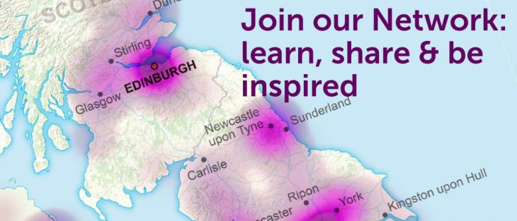 Join our Network of over 2000 professionals and volunteers in England, Scotland, Wales and Northern Ireland