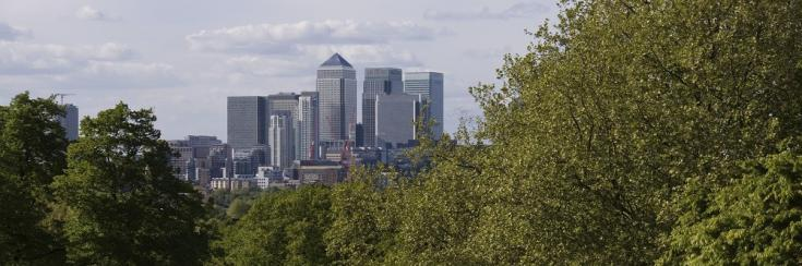 View of the City of London (C) istockphoto