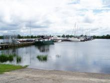 Ballyronan Harbour, Lough Neagh (credit Henry Clark, Creative Commons licence)
