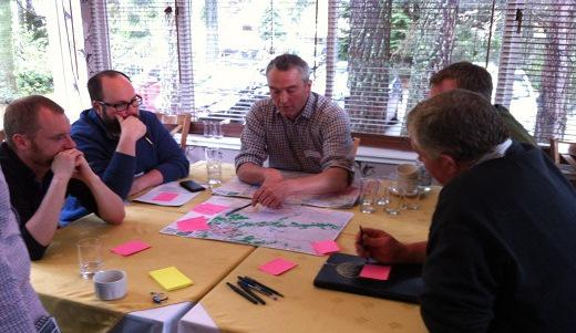 Workshop in Ballater (Local Priority Area). Photo credit and copyright: James Hutton Institute